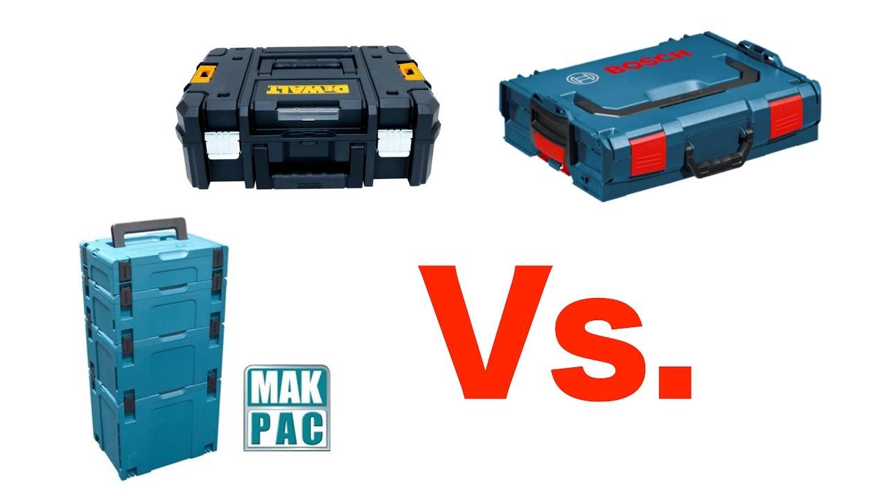 Cajas de herramientas bosch vs makita vs dewalt youtube - Cajas de erramientas ...