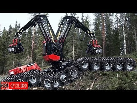 TOP 10 Most Modern Wood Cutting Machine, Amazing Tree Cutting Machine Compilation In The Worl