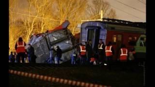 в москве электричка столкнулась с поездом на Брест...