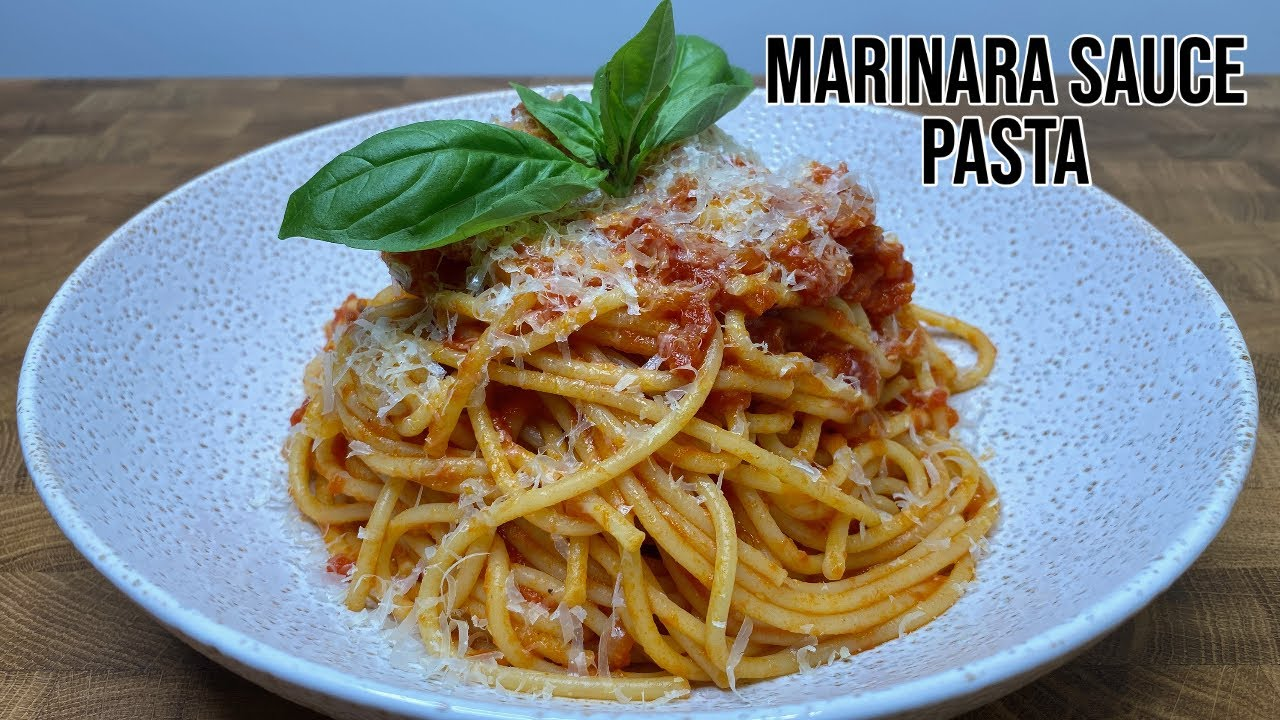 Marinara Sauce Pasta   How To Make The Perfect Sauce Recipe