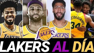 NOTICIAS Y FICHAJES DE LAKERS en la NBA 🔥 Antetokounmpo, Cousins, Anthony Davis y ... Video