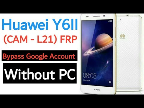 #FRP_BYPASS HUAWEI CAM-L21 Y6-2 FRP Bypass 2020 Update Without PC 100% Working