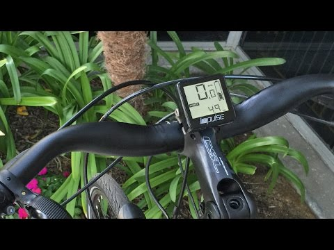 Impulse 2.0 Instructions Manual Video - Electric Bike Computer Display System