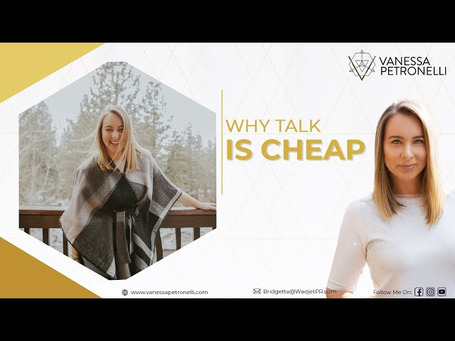 Why Talk Is Cheap