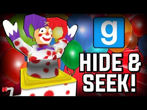 Gmod Hide and Seek - Clown (IT) Edition! (Gmod Funny Moments)