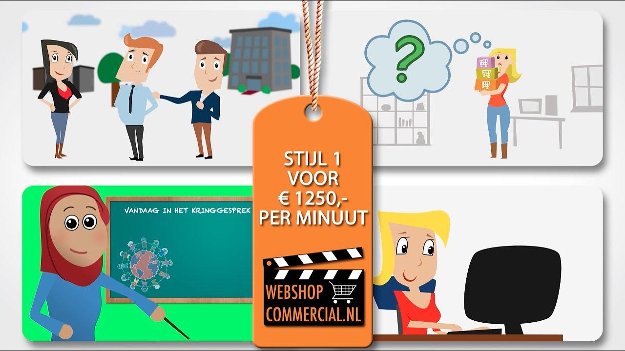 Uitleganimatie animatiefilm voor website