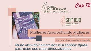 Mulheres Aconselhando Mulheres - Cap 12   Mirtis Moraes   02/jun/2021