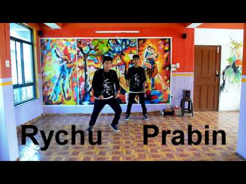 Awsome Hiphop dance on bollywood song / kristal klaws