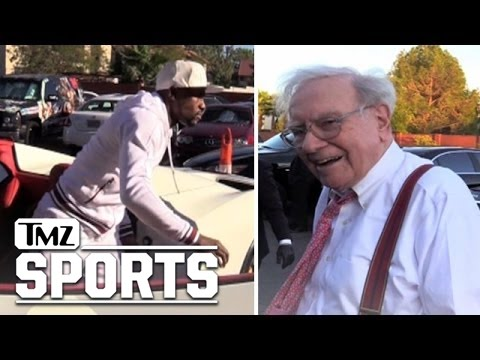 Floyd Mayweather -- Warren Buffett Joins 'The Money Team!' | TMZ Sports
