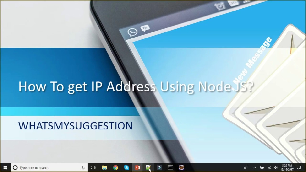 How To Get IP Address Using Node JS