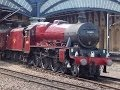DOUBLE STEAM HEAVEN IN YORK + THE NATIONAL RAILWAY MUSEUM 17/05/2014