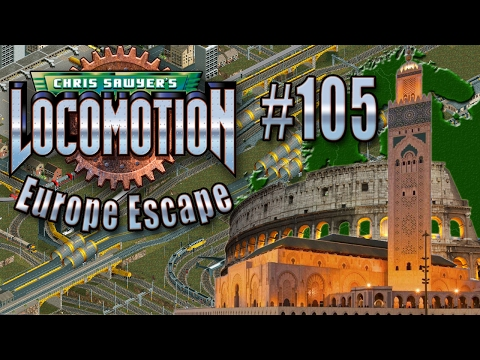 Chris Sawyer's Locomotion: Europe Escape - Ep. 105: CONTINENTAL CONNECTION