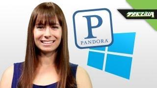 The Best Pandora App for Windows 8! - Tekzilla Daily Tip