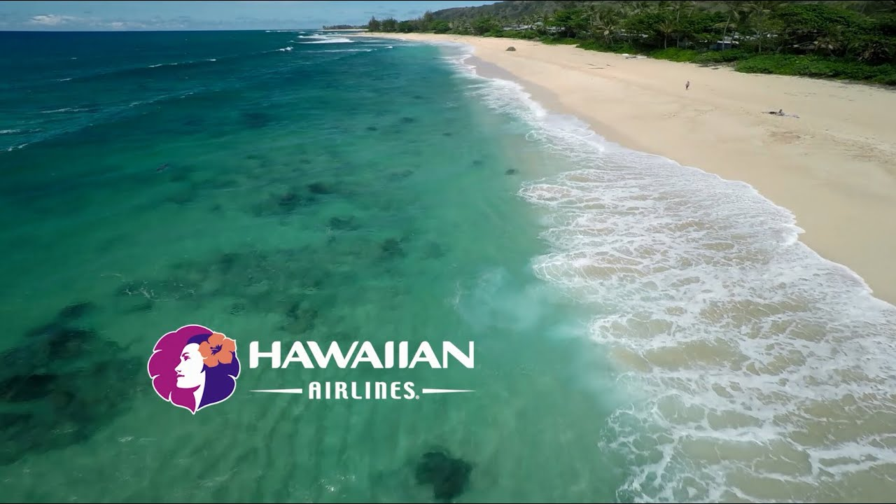 Aloha And Welcome Aboard Hawaiian Airlines In Flight