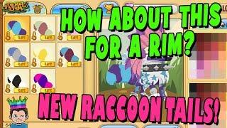 RARE Raccoon Tail GIveaway    AJPW
