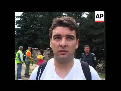 Thousands join protest march to mark Srebrenica anniversary