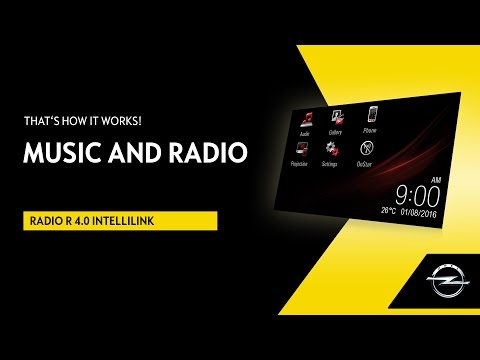 R 4.0 IntelliLink | Music and Radio | That's How It Works!
