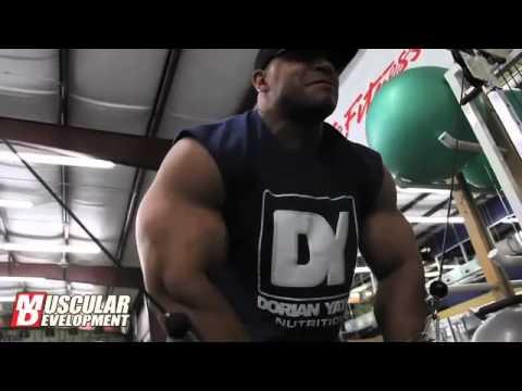 Jimmy McBride Training Dorian Yates Style