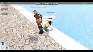 ROBLOX | Donald Trump Visits ROBLOXian Waterpark!