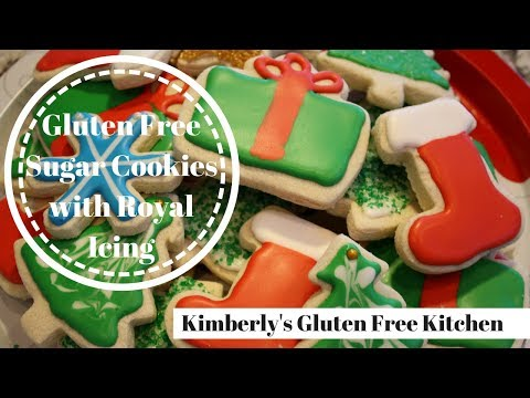 Gluten Free Sugar Cookies With Royal Icing