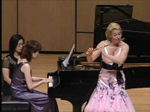 Amy Porter, flute - Burton Sonatina mvt. 2