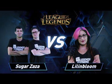 פרק 5: Sugar Zaza vs Lilinbloom - League of Legends