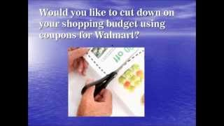 Coupons for walmart products - Walmart online coupons