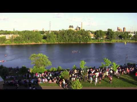Mississippi River Boat Ballet at 20 x normal speed