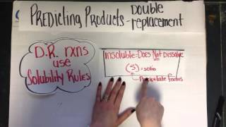 Predicting products - double replacement