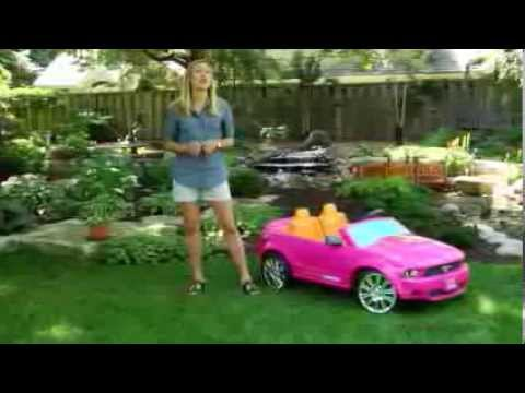 Fisher-Price Battery Powered Barbie Ford Mustang - Product Review Video