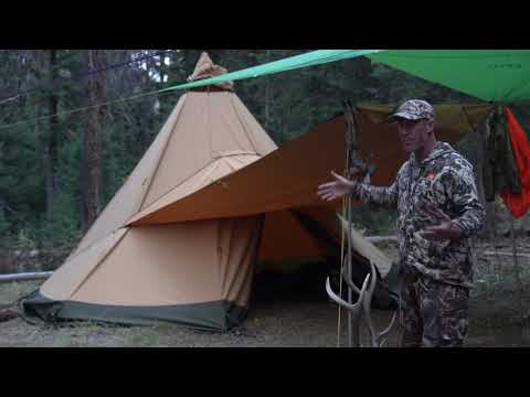 How To Set Hunting Camp With Pack Goats