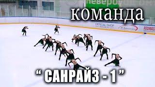 Команда САНАРАЙЗ 1 Санкт Петербург 2020 1 день Кубок России по синхронному катанию на коньках