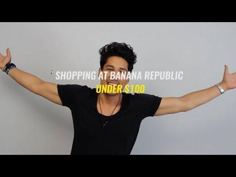 Under $100 Affordable Shopping Haul  Banana Republic