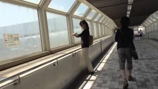 【HD】阪神・六甲ライナー  魚崎駅 (兵庫県神戸市東灘区)