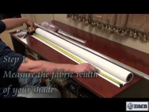 Battery Operated Motorized Roller Shade Instructional Video Youtube