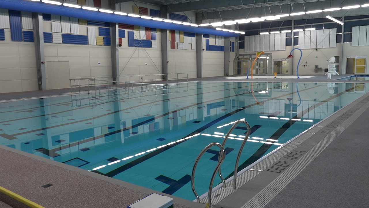 Wfcu Centre Community Pool Unveiled Youtube