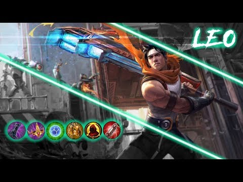 Leo Tank! - Insanely Over Powered! - Vainglory 5v5
