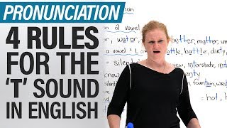 Speak English like a North American 4 Pronunciation Rules for the Letter T