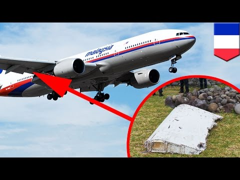 MH370 search: Flaperon debris on Reunion Island may explain how the plane broke apart - TomoNews