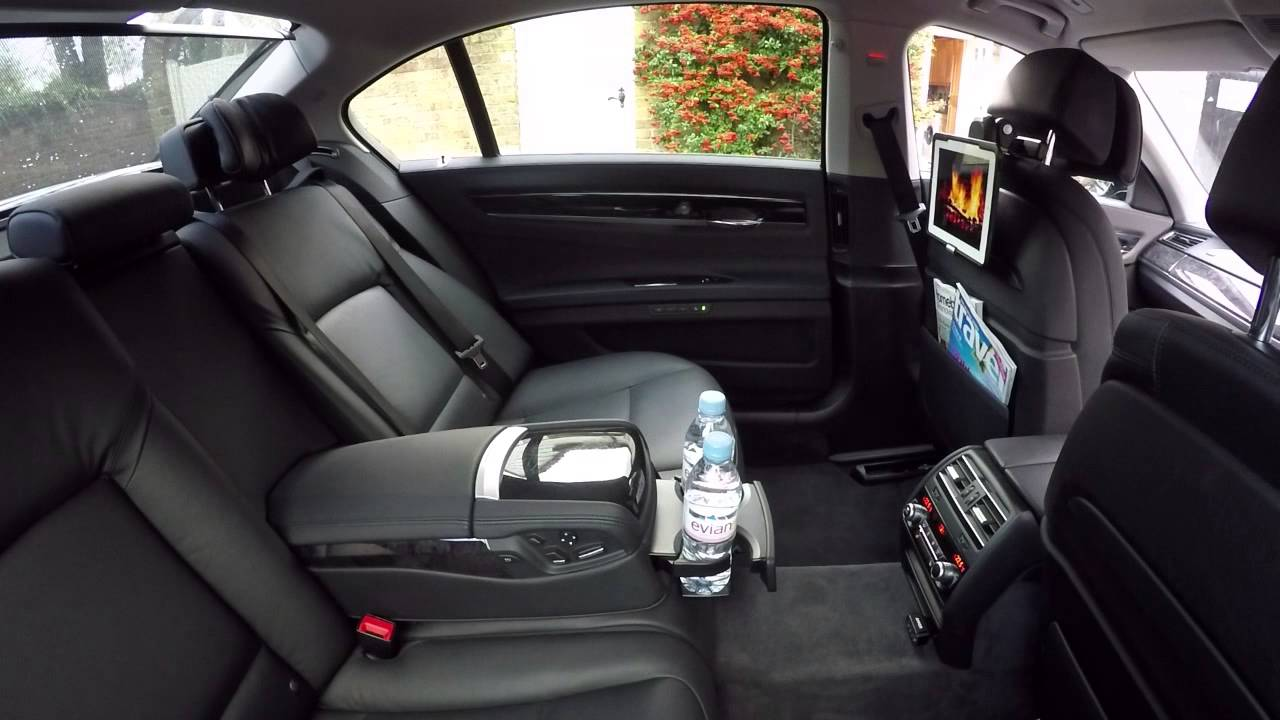 2015 Bmw 730ld Rear Comfort Seat Option F02 Youtube