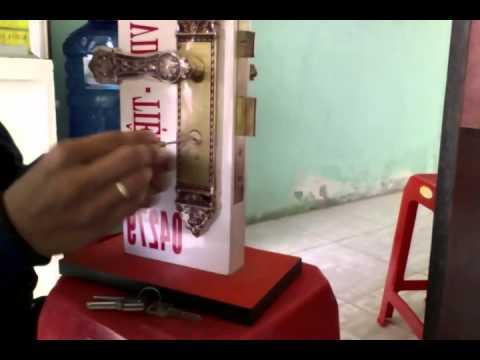 Sửa khóa cửa tay gạt tại Hải Phòng