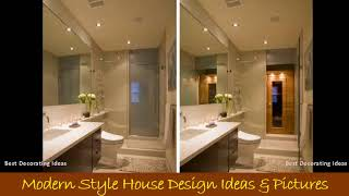 Asian modern bathroom design | Modern House Interior design ideas with inspiration &