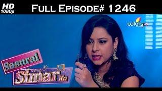 Sasural Simar Ka - 1st August 2015 - ससुराल सीमर का - Full Episode (HD)
