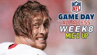 """NFL Week 8 Mic'd Up, """"His quads are a mixture of maple syrup & diesel"""" 