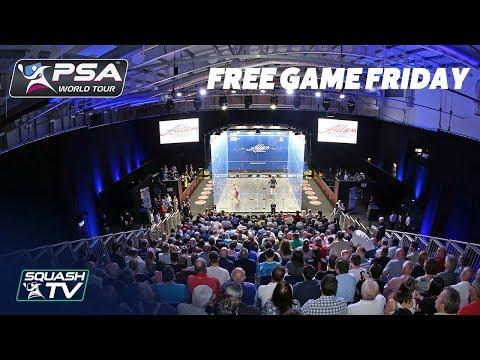 Squash: El Sherbini v Massaro - Free Game Friday - British Open 2018
