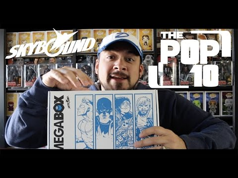 Skybound MegaBox Unboxing - April 2017