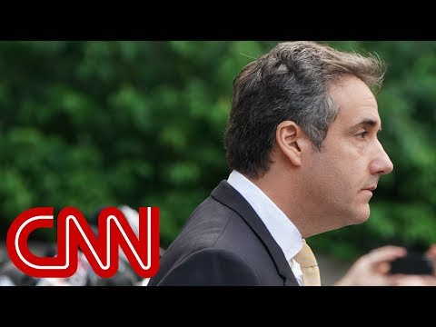 Michael Cohen pleads guilty, says Trump directed him