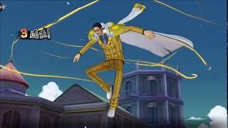 One Piece Burning Will -  Mihawk, Kizaru, Akainu vs Kuma, Aokiji, Garp