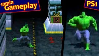 The Incredible Hulk: The Pantheon Saga ... (PS1) 60fps
