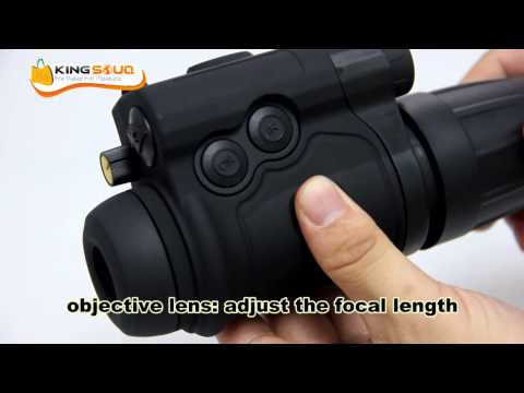 Kelusi HD Color Infrared Night Vision Devices Telescope Unboxing